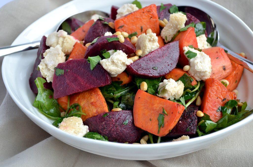 Potato & Beet Salad
