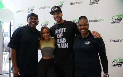 Vibe Ride Opens in Grant Park